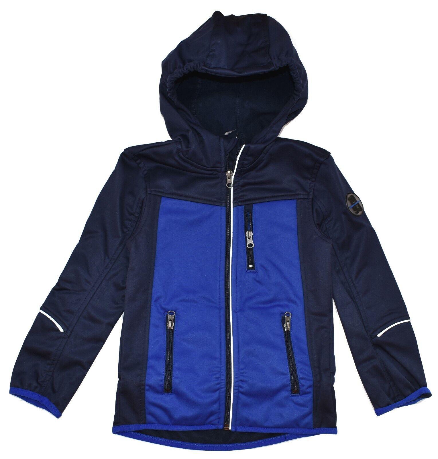 ACTIVE TOUCH Jungen Softshelljacke Jacke Regenjacke Windjacke Blau 116 128 152