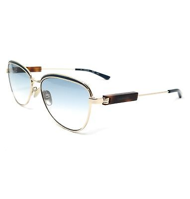 CALVIN KLEIN Sunglasses CK18113S 716 Gold Oval Women (Calvin Klein Sunglasses For Women)