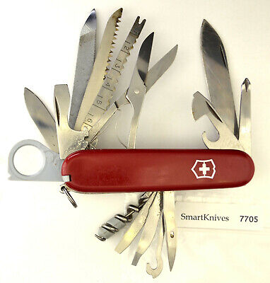 Victorinox Champion w Hook Swiss Army knife- vintage, used, very good #7705