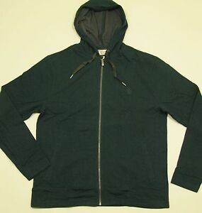 ORIGINAL PENGUIN Men's Green Cotton/Poly Zip-Front Hoodie Sweatshirt XL NWT $98