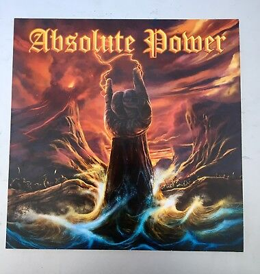 Absolute Power CD Members Napalm Death Diamond Head AT the Gates Paradise...