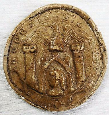 Repro Siegel Stadtsiegel München 1268 - Historische Siegel Hermann Eitzen /1