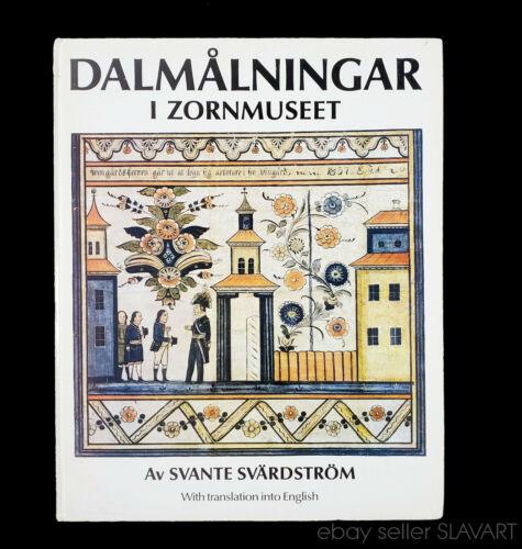 BOOK Swedish Dala Painting from Dalarna Anders Zorn painter folk art Mora church