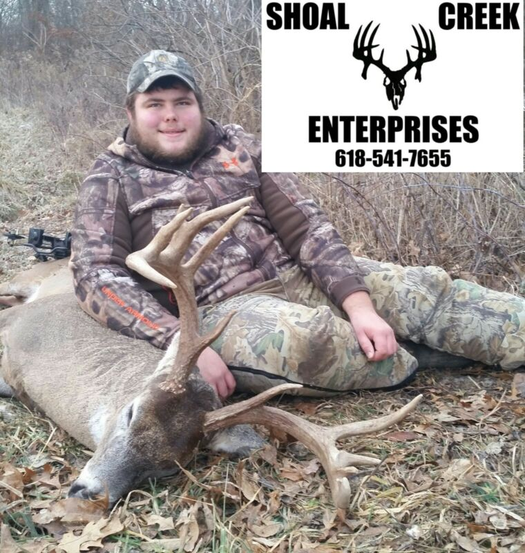 ILLINOIS ARCHERY LATE SEASON WHITETAIL DEER HUNT PAYMENT PLAN AVAILABLE
