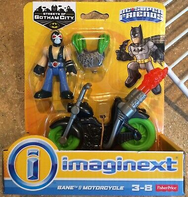 Imaginext DC Super Friends Streets Of Gotham Bane & Motorcycle