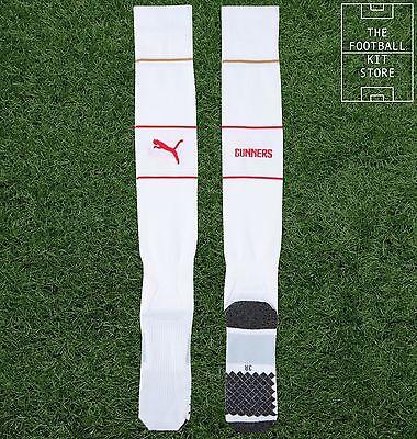 Arsenal Home Socks  - Official Puma Boys Football Socks - All Sizes