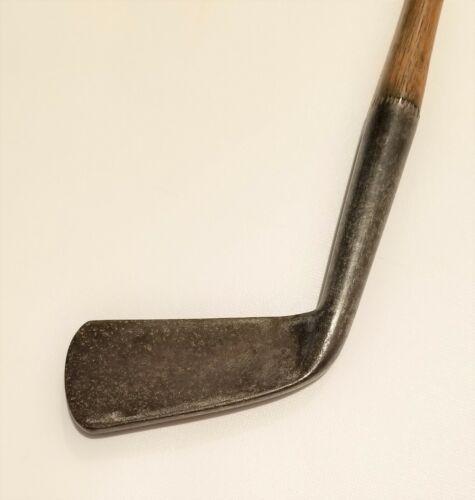 Antique hickory golf club; Wm Park general iron circa 1880; vintage golf