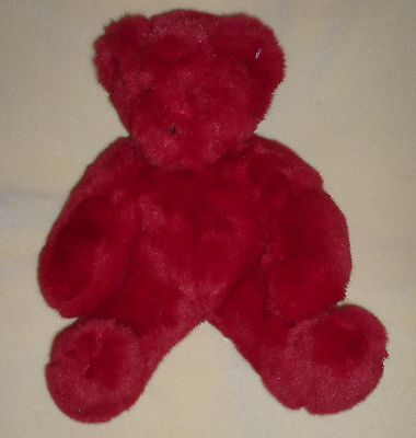 Vermont TEDDY BEAR FRIEND FOR LIFE RED Plush Born Abroad Vietnam 12""