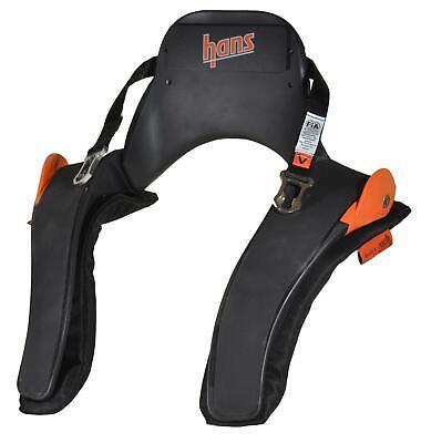 Simpson Racing Sport II HANS Device, PA Sliding for SAH Helmet, SFI 20MS