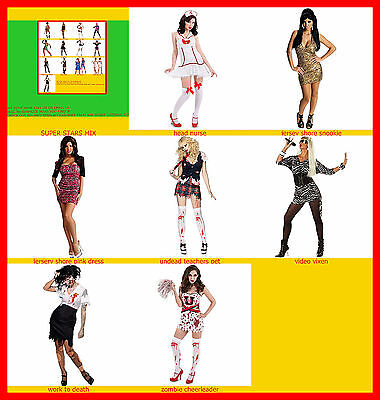 womans costumes Lady Gaga VMA White Performance Outfit AdultCostume - Lady Gaga Kostüm Outfits
