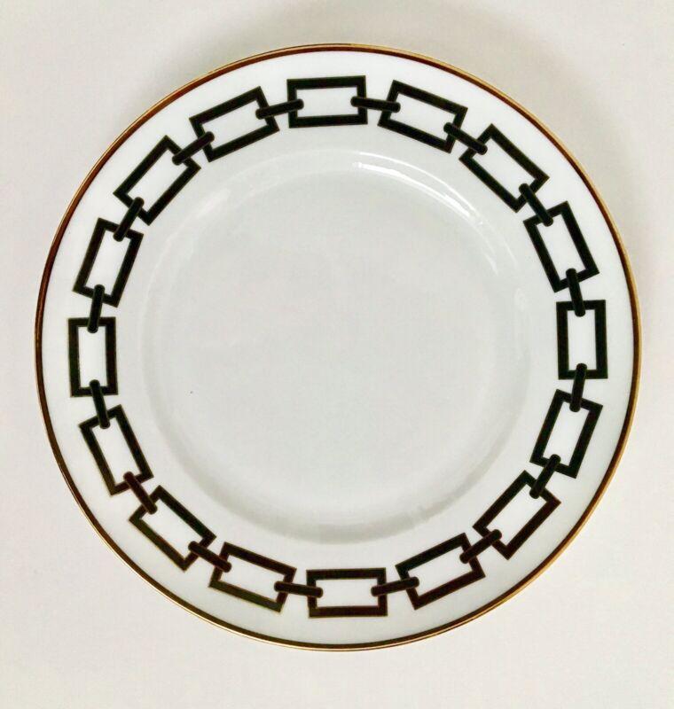 Richard Ginori Catene Nero Salad/Desert Plate New