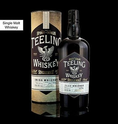TEELING Single Malt Dublin Irish Whiskey - non chill filtered - Whisky Irland Dublin Whiskey