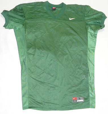 College Authentic Blank Football Jersey Green Authentic College Football Jerseys