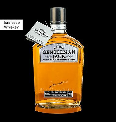 GENTLEMAN JACK - Jack Daniel's Tennesee Whiskey USA - Jack Daniels, gebraucht gebraucht kaufen  Oberursel