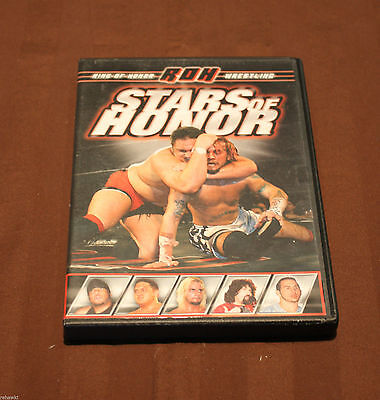 Ring of Honor - Stars of Honor (DVD, 2008) WWE WWF TNA ROH