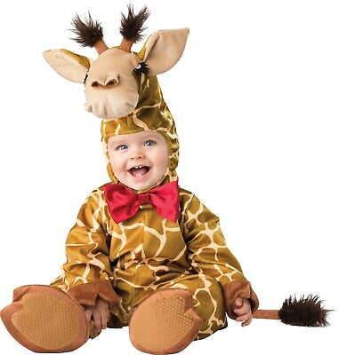 Cuddly Giraffe Infant/Toddler Incharacter Costume Halloween Large 18-24 Months