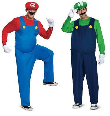 Adult Super Mario Luigi Deluxe Costume