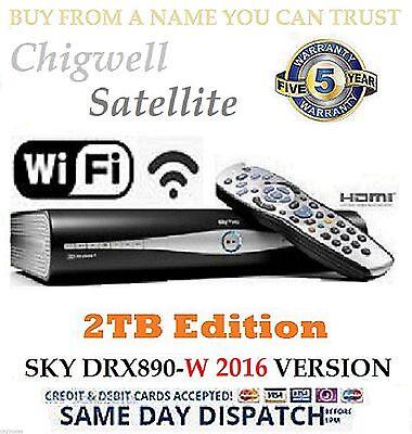 2 TB drx890w CIELO + HD BOX Satellite RICEVITORE WI-FI MODELLO enorme 2 Upgrade
