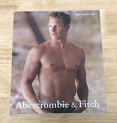 Abercrombie & Fitch Quarterly Back To School 2002 Catalog Rare Bruce Webber