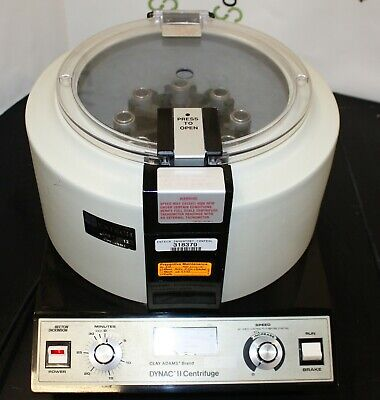 Becton Dickinson Bd Clay Adams Dynac Ii Centrifuge Lab With 3 Rotors