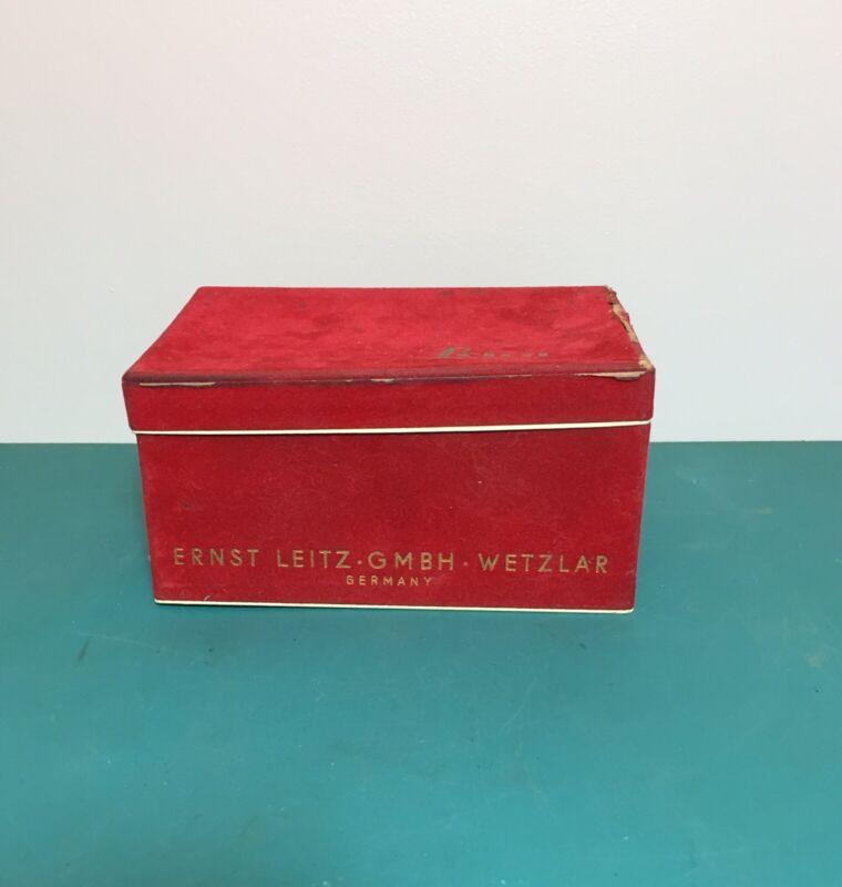 Vintage Leica IIIG Empty Camera Box