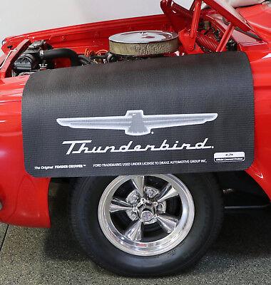 Ford Thunderbird Logo Fender Gripper Black Protective Fender Cover FG2110 ()