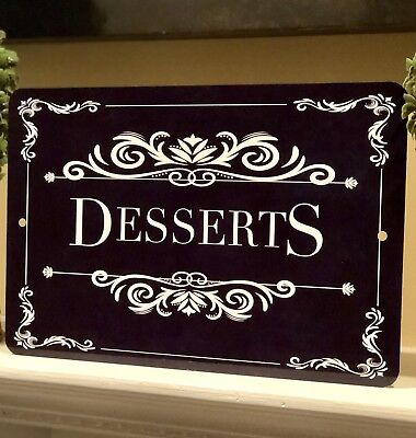 Dessert Bar Sign- Wedding Sweets Table - Party Decor Sign - 12x8 Sign - Wedding (Wedding Bar Signs)