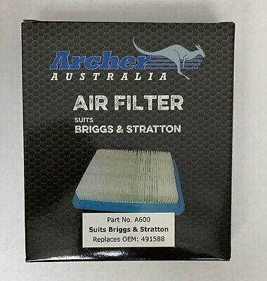 100 Pack Air Filters replaces Briggs & Stratton 399959 491588S BEST MADE (Best Outdoor Power Equipment)
