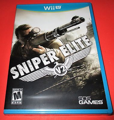 Sniper Elite V2 Nintendo Wii U *Factory Sealed! *Free Shipping!