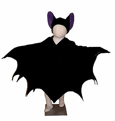 ledermauskostüm  Babys, Kinder, Erwachsene Karneval Halloween (Fledermaus Baby Halloween Kostüm)
