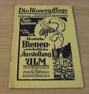 """1926 German BEEKEEPING Magazine~""""DIE BIENENPFLEGE""""  Illustrations/Photos~"""