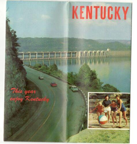 Vintage Kentucky Travel Brochure - 1950