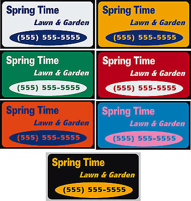 12 X 24 Custom Car Magnets Magnetic Auto Car Truck Signs