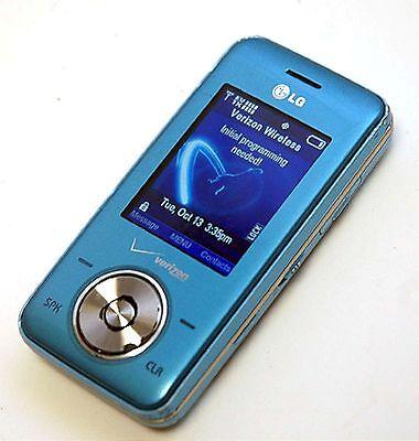 LG Chocolate VX8550 Verizon Wireless BLUE ICE Cell Phone vx-8550 slider V-Cast B