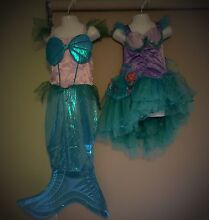 Mermaid costumes age 3-6 Woodvale Joondalup Area Preview