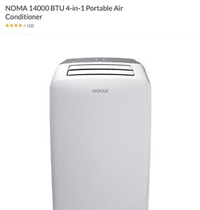 4 in 1 portable air conditioner, heater, dehumidifier and fan
