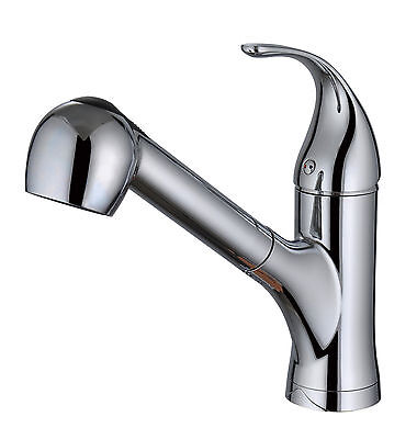 BIDET4ME, KM-05A, Kitchen Sink Faucet Pull Out 2 functions Spray Mixer Tap (Lead