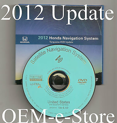 2007 2008 2009 2010 2011 Honda CRV Fit Element Insight Hybrid Navigation DVD Map