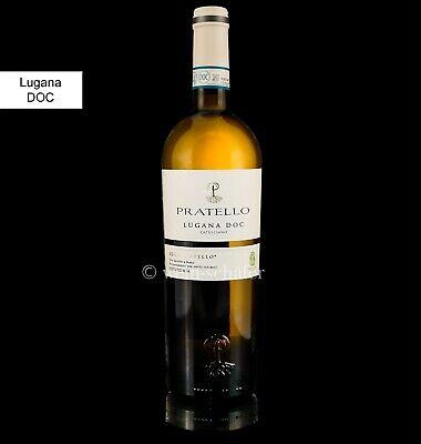 Lugana Pratello 2019 Weißwein Gardasee Vegan trocken 12,5% 0,75l Wein Italien