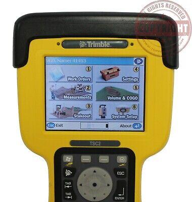 Trimble Tsc2 Data Collector Scs900 Rtk Gpsrobotictds Rangertotal Station
