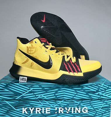 Nike Kyrie Irving 3 Iii Bruce Lee Mamba Mentality Mm Aj1672 700 Yellow Black Red