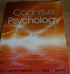 Cognitive Psychology: A student's handboo. 6th edition Melton South Melton Area Preview