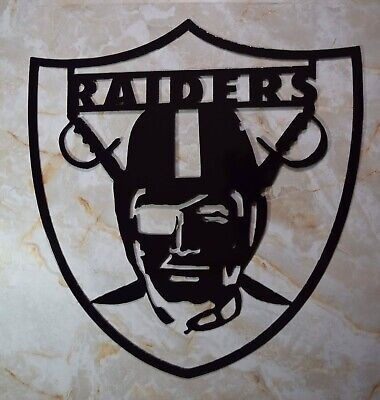 Oakland Raiders Football Sports Metal Art Wall Decor Gift Idea - Decoration Ideas