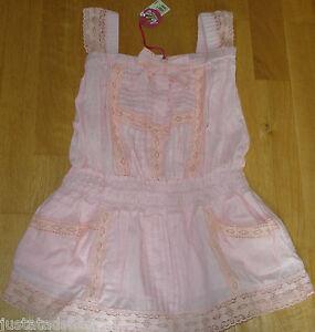Nolita-Pocket-girl-Coyote-summer-lace-dress-3-4-y-BNWT-designer