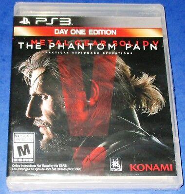 Metal Gear Solid V: The Phantom Pain -- Day One Edition PS3 *New-Free Shipping! comprar usado  Enviando para Brazil