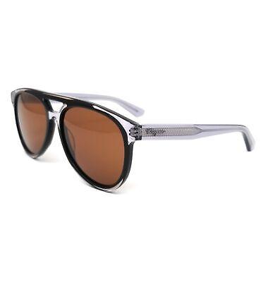 Salvatore Ferragamo Sunglasses SF945S 013 Black-Grey Aviator Men 57x16x150