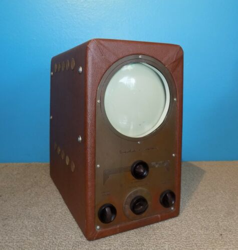 Tele-Tone TV-220 Table Top Tube Television TV Good Condition Free Shipping