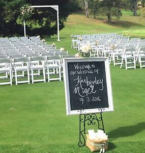 Outdoor Wedding Hire, Arches, Lanterns, Carpet Runners, Chairs Como Sutherland Area Preview