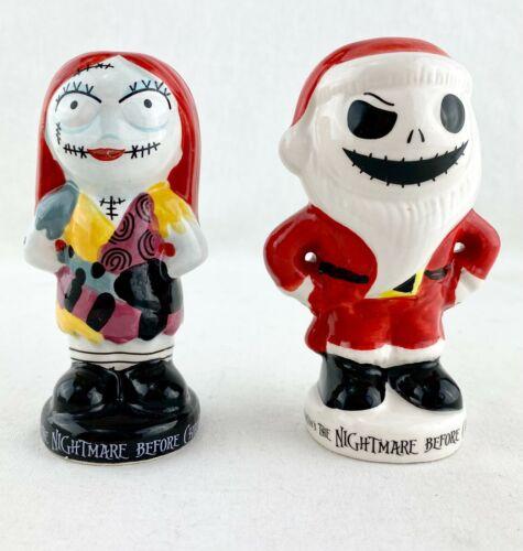 The Nightmare Before Christmas Salt & Pepper Shaker Set Sally Jack Sandy Claws