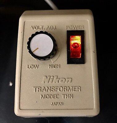 Genuine Nikon Microscope Transformer Thn Light Source Illuminator 120v